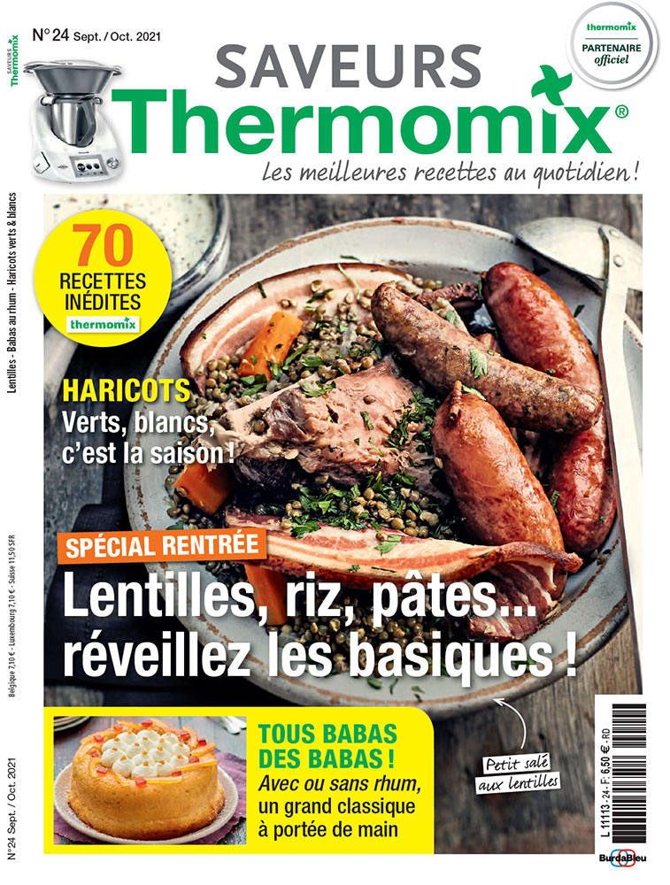 Saveurs Thermomix n°24
